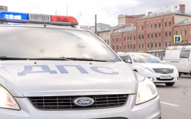 Такси наехало на ребенка на Дмитровке
