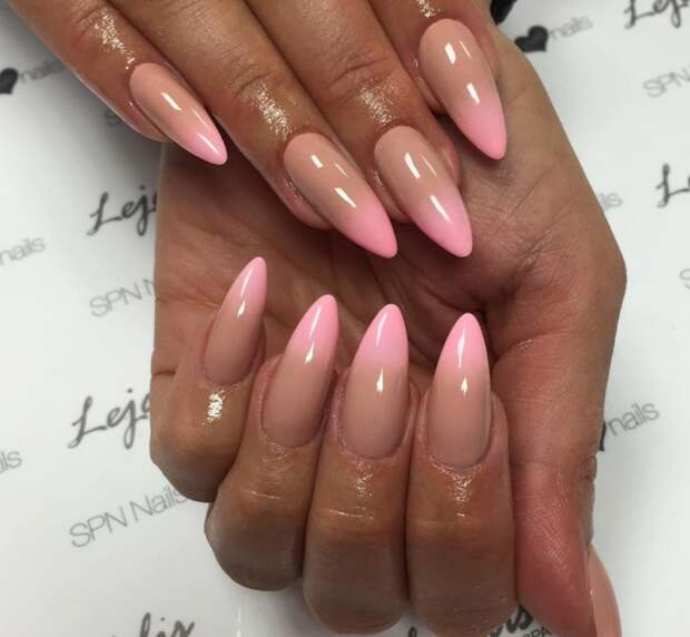 розовый френч фото 17