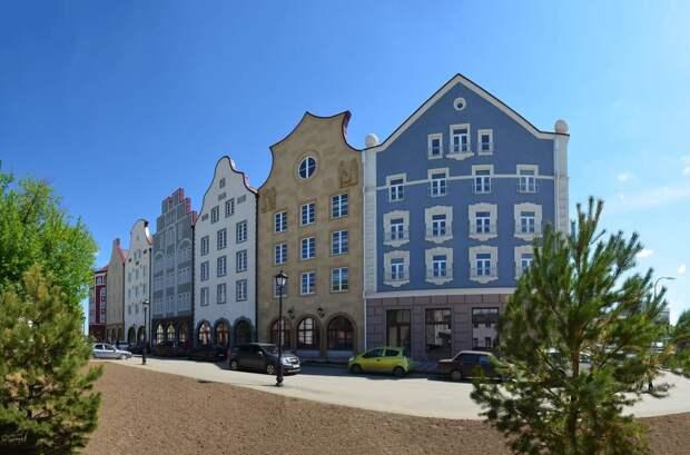 Где в России полюбоваться архитектурой как за границей?