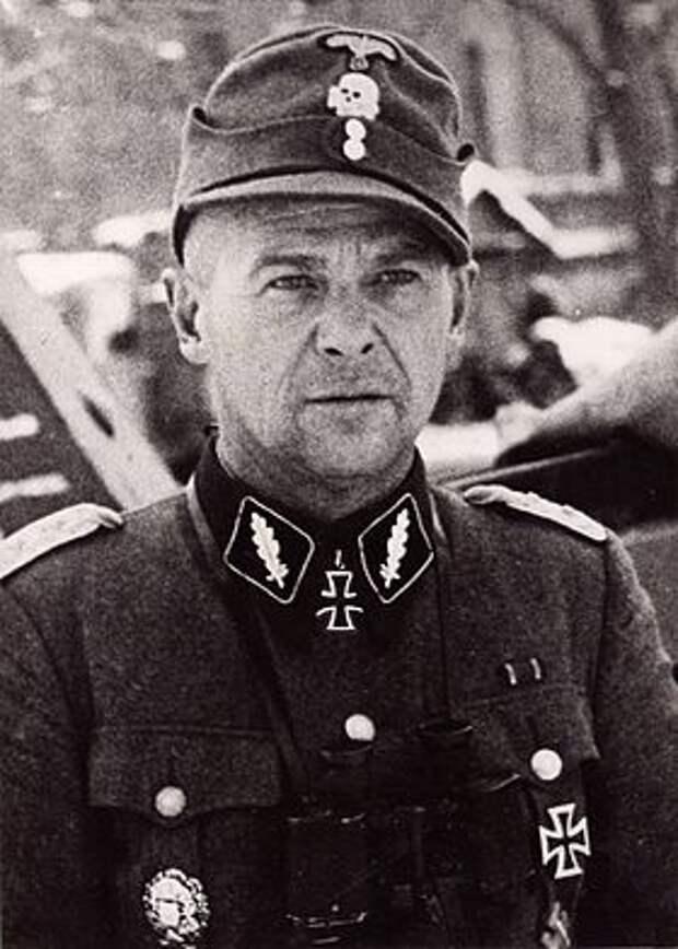 Штандартенфюрер СС, командир 281-го Абренского латышского батальона в ходе операции «Зимнее волшебство» Волдемар Вейс.