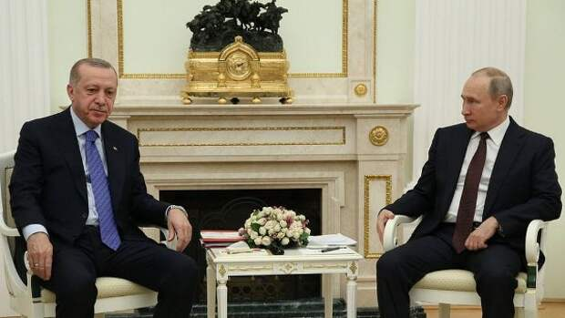 Путин выразил Эрдогану серьёзную обеспокоенность: боевики вКарабахе