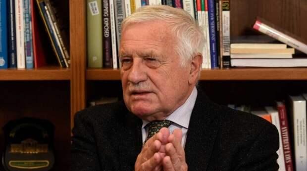 Власти Чехии намеренно держат население в страхе фейком о России – экс-президент
