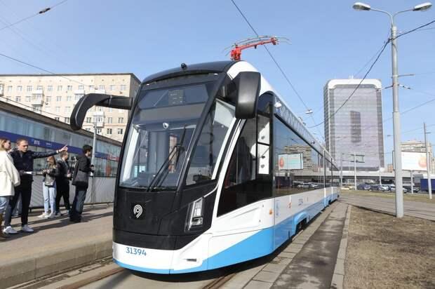 На шоссе Энтузиастов проложат шумопоглощающие трамвайные пути