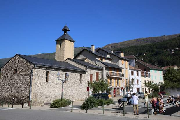 The city of Ax-les-Thermes