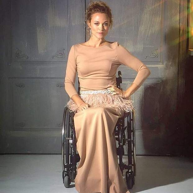 5. Ксения Безуглова инвалидность, красота, мужество