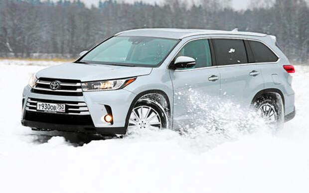 Toyota Highlander - тест-драйв ЗР