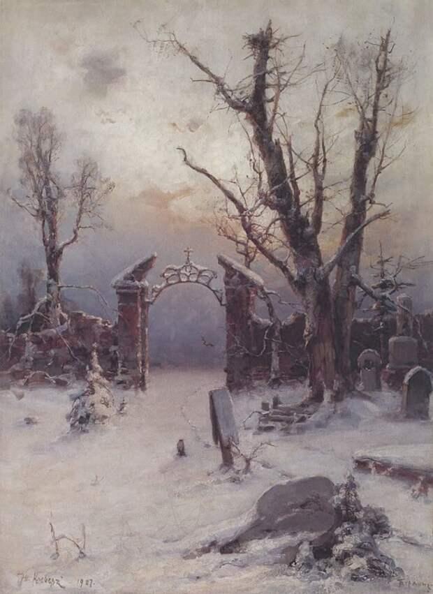 художник Юлий Юльевич Клевер картины – 10