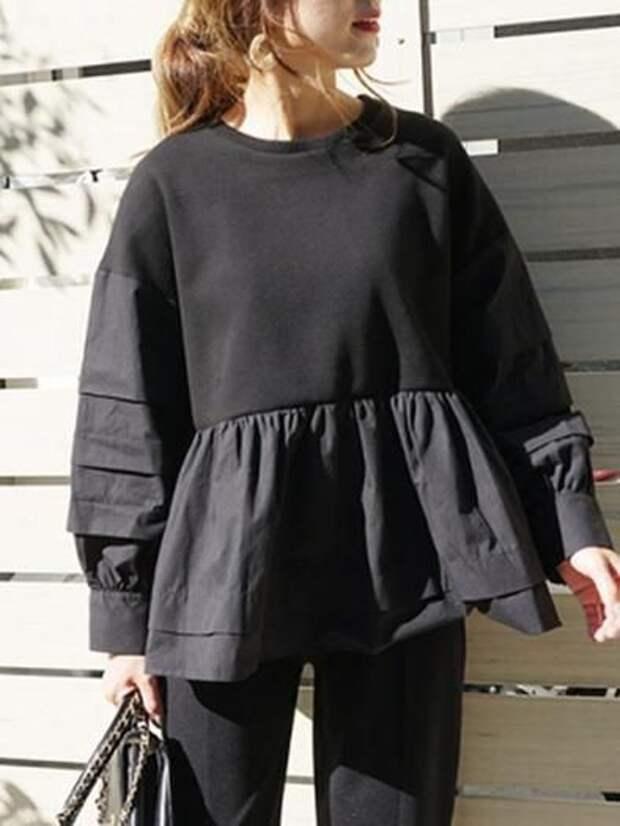 Новые платья и туники из старых кофт