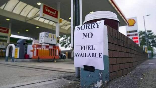 Великобритания задействует силы армии для решения топливного кризиса