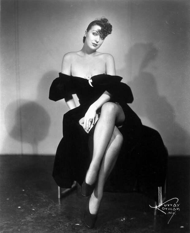 Красотка из 40-ых Джипси Роуз Ли.