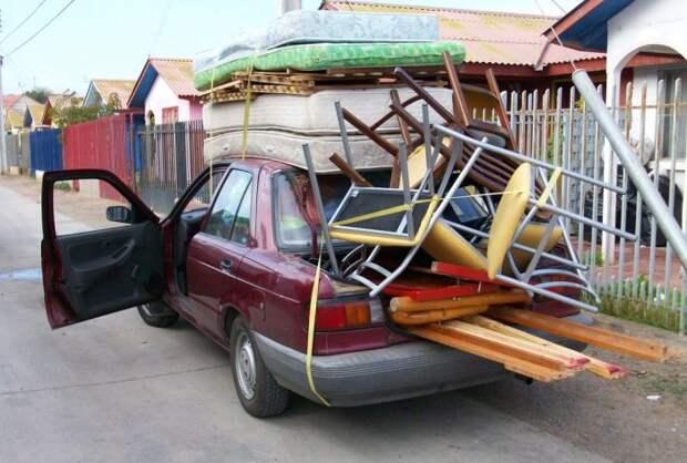 Вещи, которые не стоит возить в багажнике