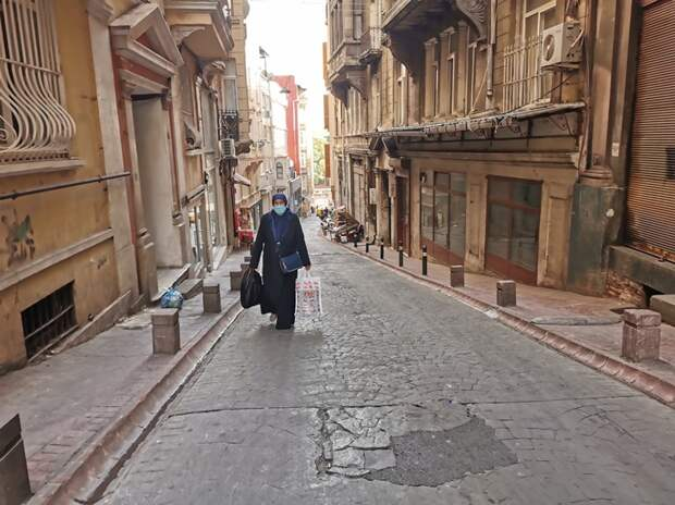 В Стамбуле малолюдно / фото Елены Харо