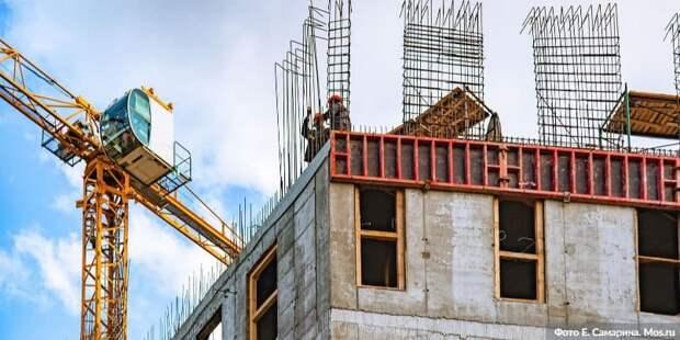Собянин: 1 млн кв метров жилья по программе реновации построено в Москве