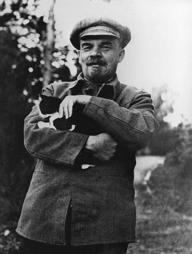 Ленин в Горках, начало сентября 1922 года