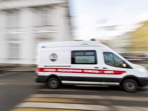 Полицейский сбил женщину в Москве