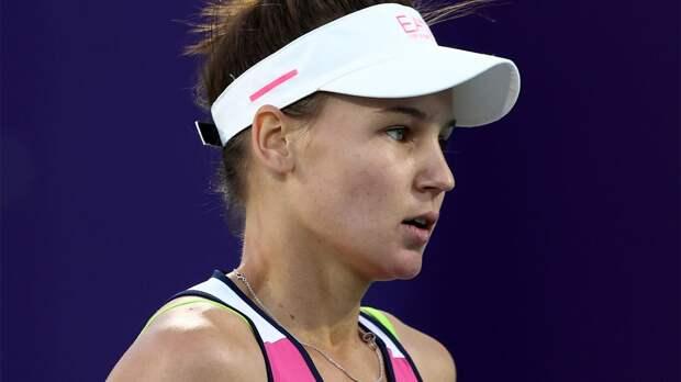 Кудерметова в 3-часовом матче победила Перу и вышла во 2-й круг турнира в Стамбуле