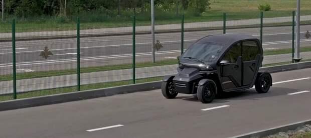 Концерн Калашников представил обновленный электромобиль нового поколения