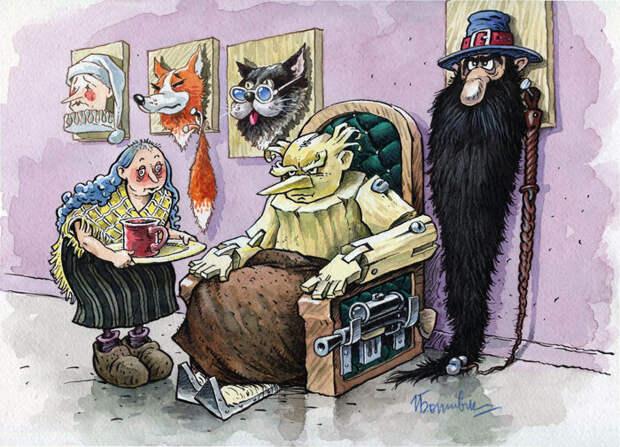 Как живется Буратино в старости. Продолжение известной сказки