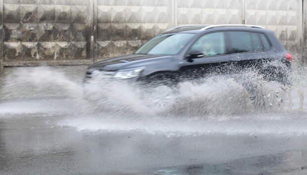 Дожди ожидаются на текущей неделе в Московском регионе