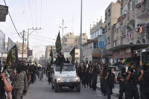 «Бригады Аль-Кудс» отказались соблюдать режим прекращения огня и провели военный парад в Газе