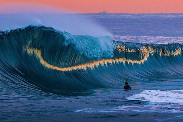 Бездонный мир моря на фантастических снимках Беннетта Ломбардо