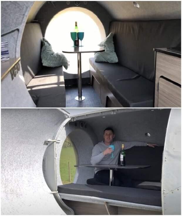 Стив Джонс. Британец, который живет в турбине самолета