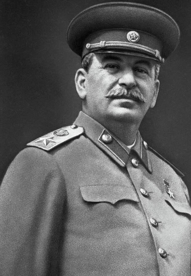 И.В. Сталин, фото из открытых источников