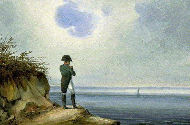 Наполеон на острове Св. Елены. Сандманн (XIX век)