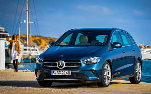 Новый Mercedes-Benz B‑класса: его научили угадывать настроение водителя