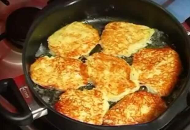 Готовим вкусные драники без яиц