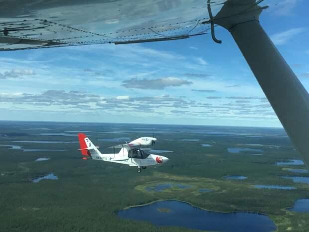 На самолётах-амфибиях LA-8 иBorey в июле–августе 2018 года совершили международную арктическую экспедицию