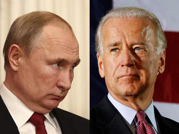 Politico: Байден избегает введения санкций против Путина и его окружения