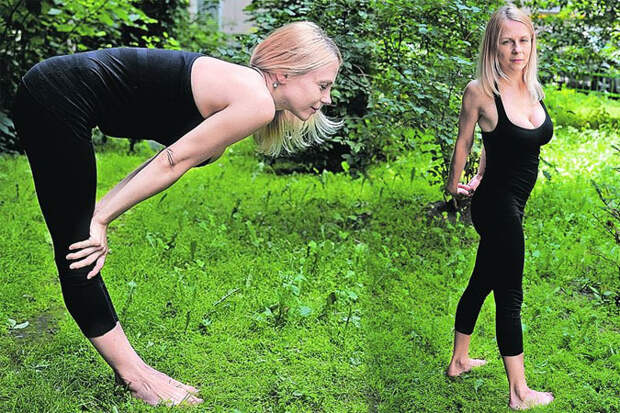 Йога для дачников: 7 важных упражнений от боли и против усталости