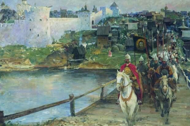 Куликовская битва в живописи.
