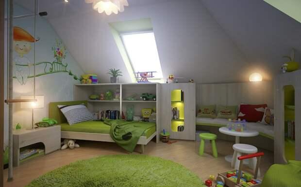 Полезный дизайн детской комнаты