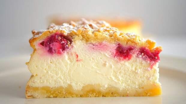 Пирог на сметане – нежный и вкусный.