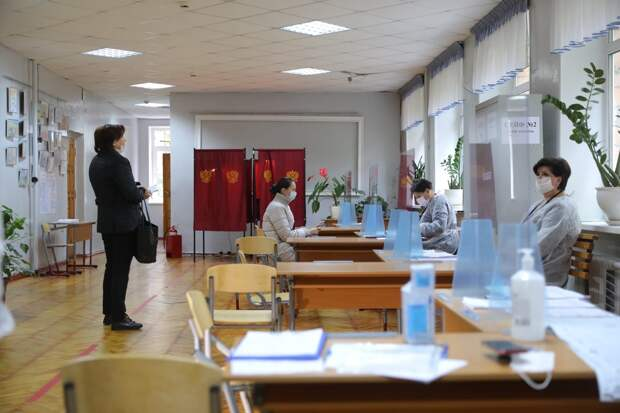 На пяти избирательных участках Нижегородской области проходит голосование при помощи тифломаркеров