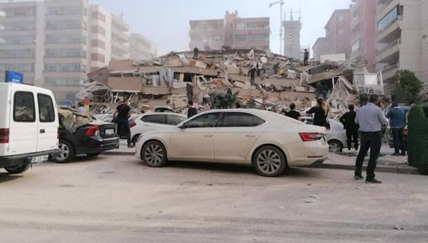В результате землетрясения в Эгейском море в Турции и Греции погибло 14 человек