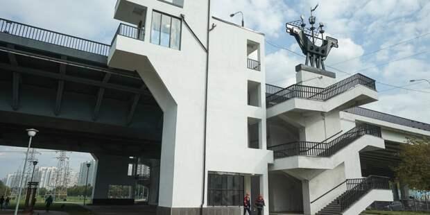 На мосту от Марьина до Братеева запустили четыре лифта для маломобильных