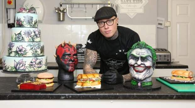 Реалистичные торты от кулинара Бена Каллена