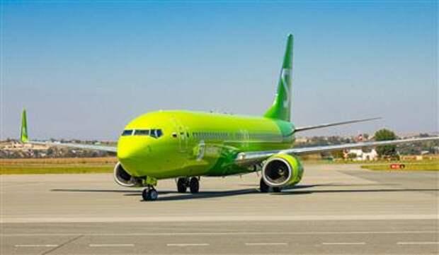 Перевозки S7 Airlines выросли за август на 18%