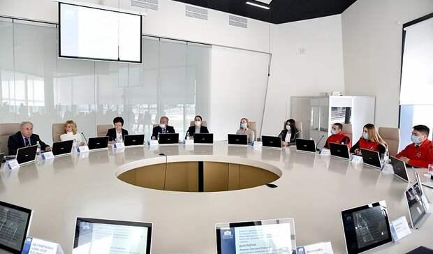 На «Самбекских высотах» обсудили вопросы патриотического воспитания