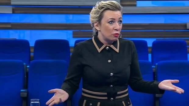 Захарова осудила украинского журналиста за недовольство рекламой на ОИ-2020