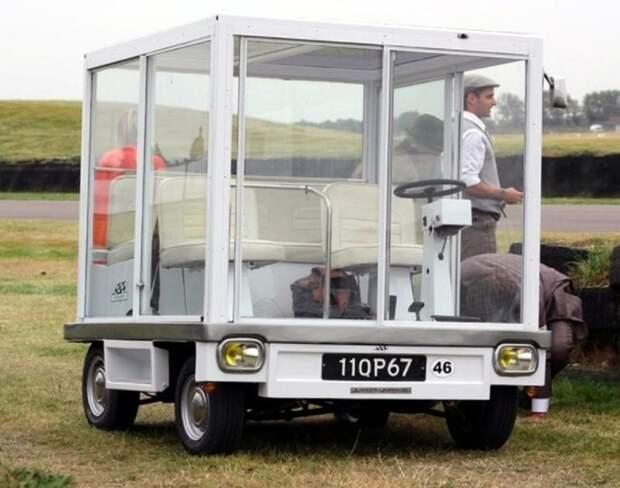 Автомобиль куб.   Фото: Пикабу.