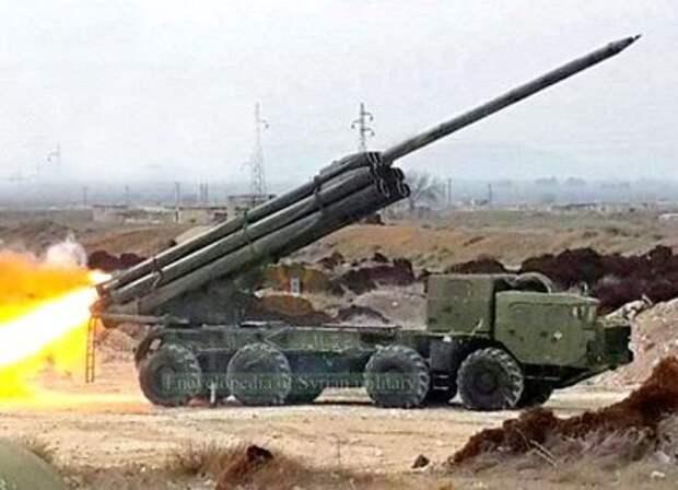 Протурецкие боевики впервые ощутили на себе мощь российских «Смерчей»