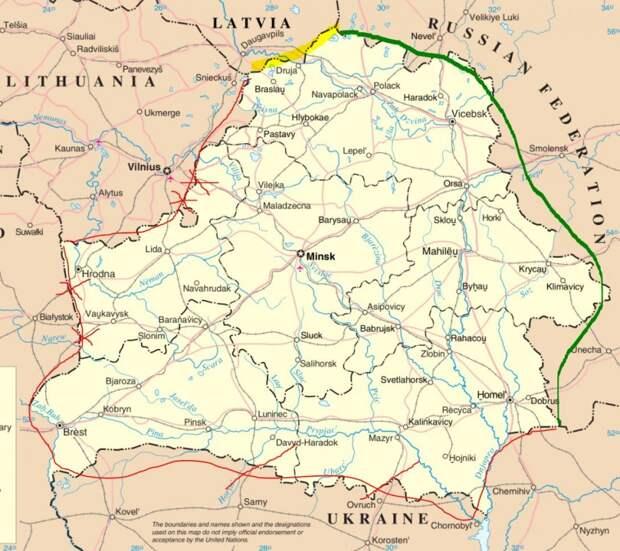 Белоруссия закрывает границы с Западом