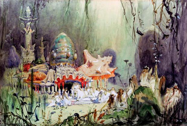 10 театральных художников Серебряного века. Виктор Васнецов