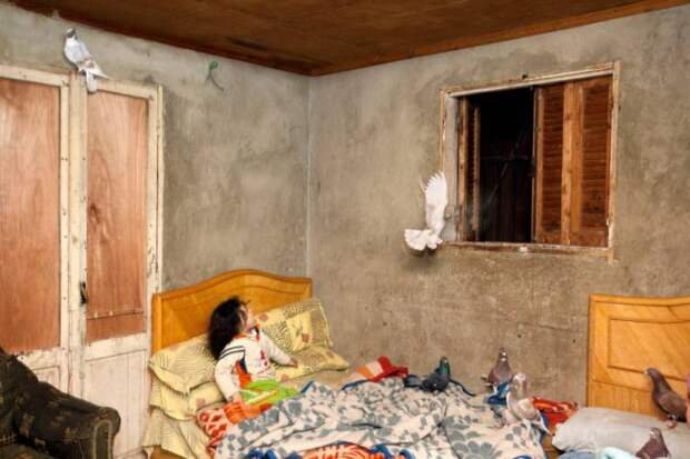 Скромное жилье простых египтян