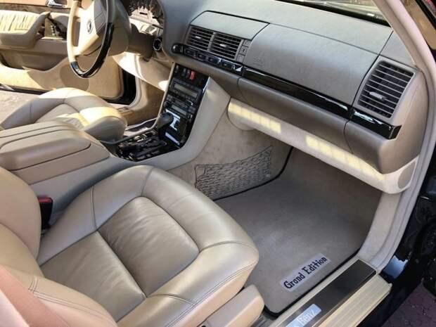 Mercedes-Benz Grand Edition: ограниченный выпуск легендарного W140 для рынка США mercedes, mercedes w140, mercedes-benz, w140, авто, автомобили, янгтаймер