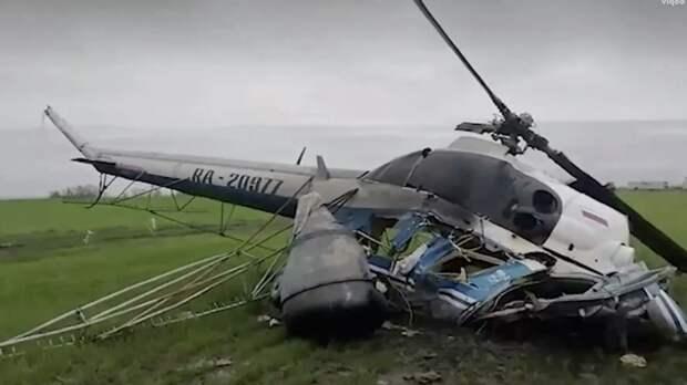 СК возбудил дело по факту жёсткой посадки Ми-2 в Краснодарском крае